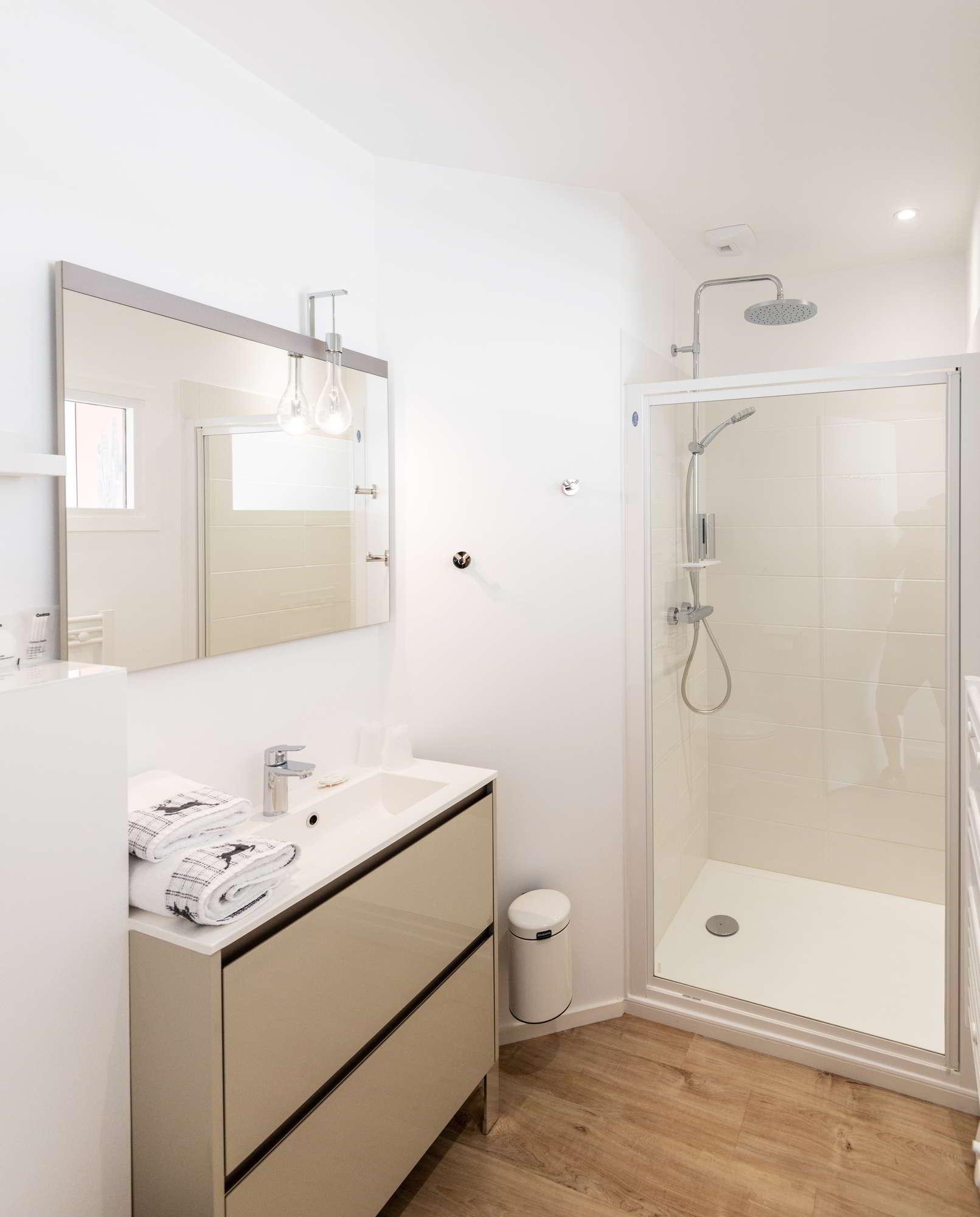 Salle de bain Maison d'hôtes Ploërmel